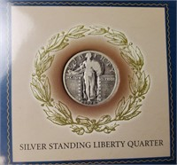 1928 SILVER STANDING LIBERTY QUARTER (138)