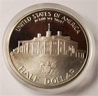 PROOF 90% SILVER COMMEMORTIVE HALF DOLLAR (139)