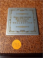 GOLD & SILVER BUFFALO NICKELS COLLECTION (143)