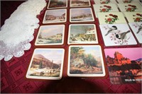 COLLECTIBLE AND OTHER VINTAGE SETS OF COASTERS
