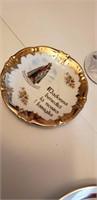 LOT OF 4 RELIGIOUS ITEMS; 24K GOLD PLATES