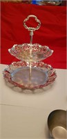LOT OF SILVER PLATED ITEMS; READ & SEE PICS!!!