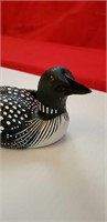 COLLECTORS HERITAGE ARTISTS HAND-CRAFTED LOON, NEW