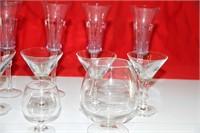 LOT OF 10 LIQUOR GLASSES, READ & SEE PICS!!!