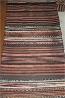 FOLK LOOM SCATTER RUG, new, 11' x 29""
