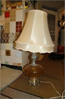 VINTAGE LAMP WITH SHADE 1970s