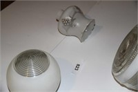 LOT OF 4 LAMP SHADES