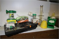 LOT OF GARDENING STUFF, TOOLS, SEE PICTURES!