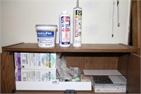 TILING MATERIAL, SHELF INCLUDED 28WX9.5DX27.5H