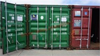 Shipping Container with Contents
