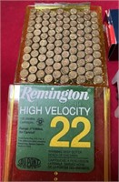 335 - REMINGTON HIGH VELOCITY 22 & 50 RIMFIRE AMMO