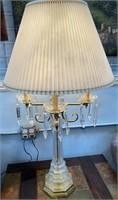 714 - STUNNING CRYSTAL TABLE LAMP