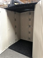 C - NEW RUBBERMAID STORAGE SHED