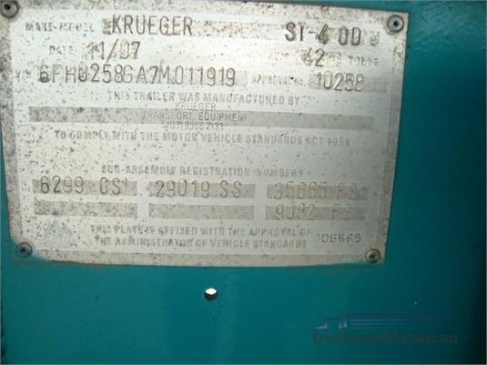 2007 Krueger Skeletal Trailer - Trailers for Sale
