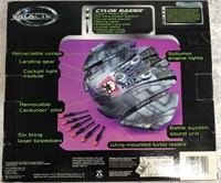34 - BATTLESTAR GALACTICA CYLON RAIDER IN BOX