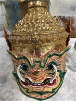 34 - GORGEOUS ASIAN MASK DECOR - SEE PICS