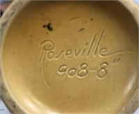 34 - BEAUTIFUL ROSEVILLE ACORN VASE