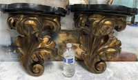 34 - BEAUTIFUL PAIR OF WALL SCONCES