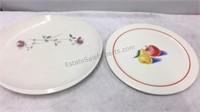 Vintage Franciscan Earthenware Plate & Bakerite