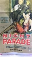 Vintage Night Parade Paper Movie Poster 39x26 -