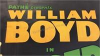 Vintage Officer O'Brien Paper Movie Poster 39x26