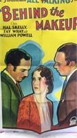 Vintage Behind the Makeup Paper Movie Poster