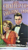 Vintage The Laughing Lady Paper Movie Poster