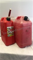 Two Large Gasoline Containers