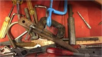Vintage Union Toolbox With Contents