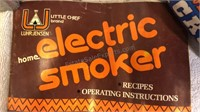 Little Chief Brand Home Electric Smoker & Western