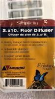 Floor Registers/Diffusers/ Vacuum Bags,