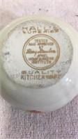Vintage Hall's Superior Dinnerware- Serving