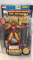 Pair of Marvel Legends Action Figures - Ironman &