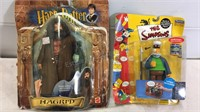 Harry Potter & The Simpson's Action Figures