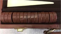 Vintage Back Gammon Game Set