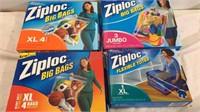 Assorted Ziploc Big Bags