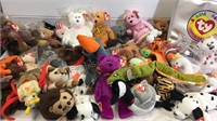 Large Assortment of Ty Beanie Babies - some