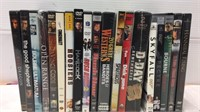 Assorted Blu Ray & DVDS- Open Range, 20 Great
