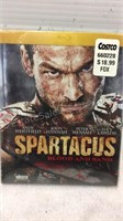 Assorted DVD & 2 VHS Tapes - Spartacus DVD