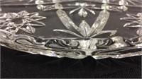 Assorted Crystal & Glass Serving Bowls & Platters