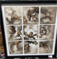 43 - NEW WMC BEAUTIFUL 9 TIMES WALL ART ($129.95)