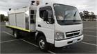 2009 Mitsubishi Canter 3.5 Crane Truck