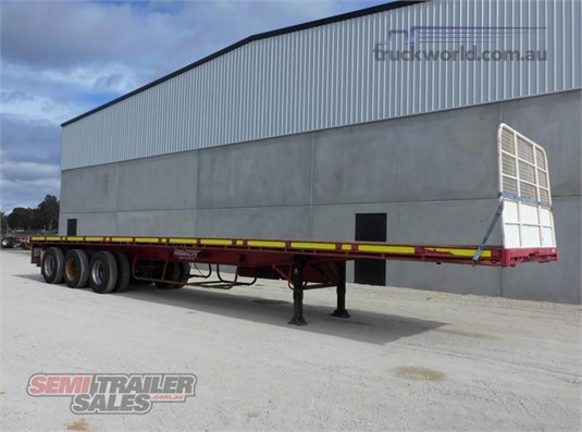 2007 Freightmaster Flat Top Trailer - Trailers for Sale
