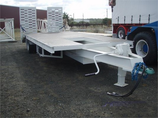 2019 Loughlin Plant Trailer With Ramps - Trailers for Sale