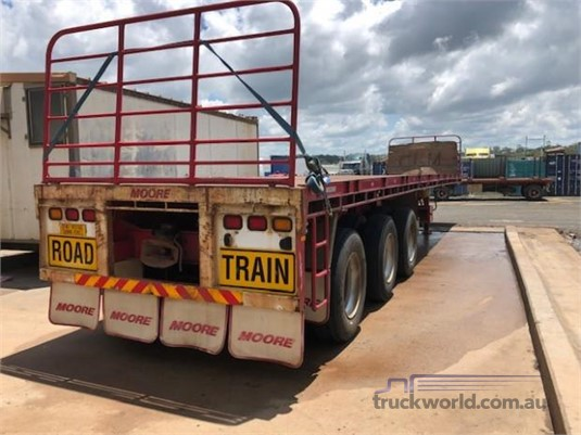 2012 Moore Flat Top Trailer - Trailers for Sale
