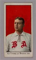1909-11 E90-1 American Caramel Cy Young baseball card