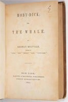 First  American edition of Melville's Moby-Dick