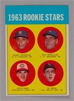 1963 Topps Pete Rose Rookie Stars #537 baseball card