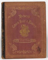 """Rare Dewey's """"The Specimen Book of Fruits, Flowers, and Ornamental Trees"""