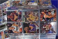 Basketball Cards- Flare, Topps 2 Binders full